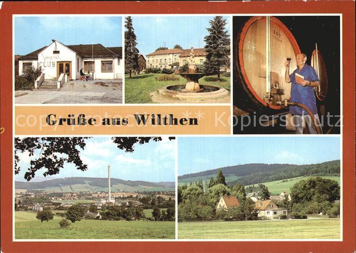 Wilthen Jugendclub Betriebsferienheim Haus Bergland  Kat. Wilthen