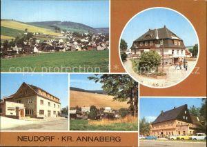 Neudorf Annaberg HO Gaststaette Vierenstrasse Betriebsgaststaette Gute Quelle Kat. Oberwiesenthal