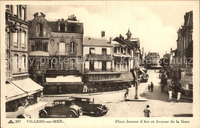 Villers sur Mer Place Jeanne d Arc Avenue de la Gare Kat. Villers sur Mer