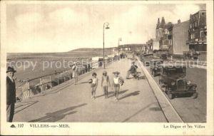 Villers sur Mer La Digue et les Villas Kat. Villers sur Mer