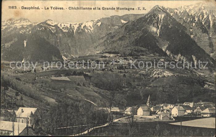 Le Trieves Saint Maurice Chichilianne et la Grande Montagne Kat. Saint Maurice en Trieves