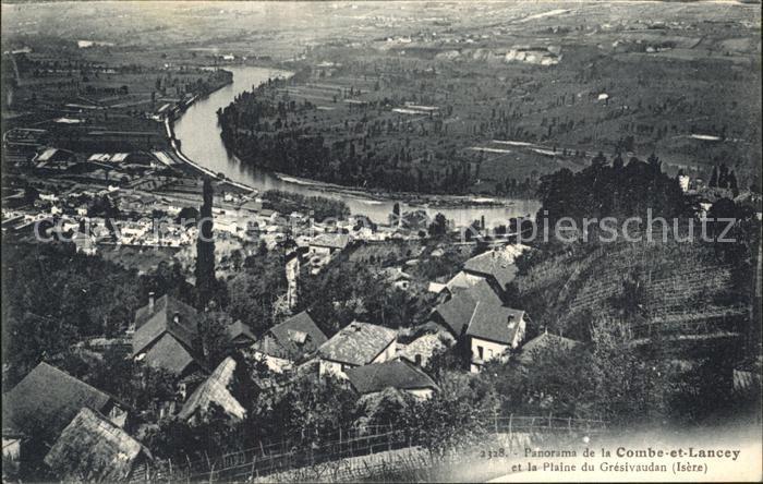 La Combe de Lancey Panorama et la Plaine du Gresivaudan Kat. La Combe de Lancey