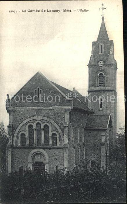 La Combe de Lancey Eglise Kirche Kat. La Combe de Lancey