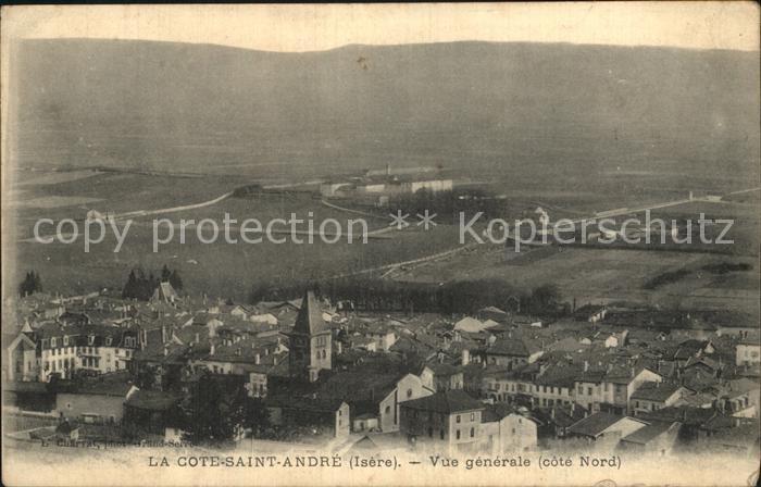 La Cote Saint Andre Vue generale Kat. La Cote Saint Andre