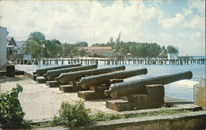 Barbados The old Harbour of Speightstown Kat. Barbados
