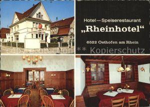 Osthofen Rheinhessen Hotel Rheinhotel  Kat. Osthofen