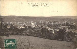 Maurs Vue generale Collection Le Cantal et la Chataigneraie Kat. Maurs