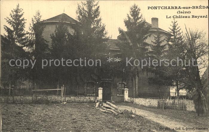 Pontcharra sur Breda Chateau Bayard Schloss Kat. Pontcharra