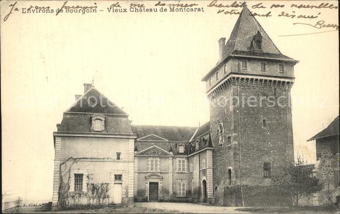 Bourgoin Jallieu Vieux Chateau de Montcarat Schloss Kat. Bourgoin Jallieu