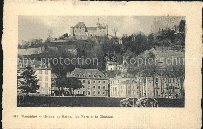 Uriage les Bains Isere Le Parc et le Chateau Kat. Vaulnaveys le Haut