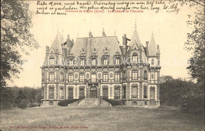 Rugles Chateau de l Hermite Schloss Kat. Rugles