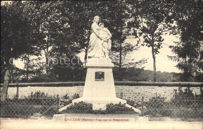 Gaillon Monument Statue Kat. Gaillon