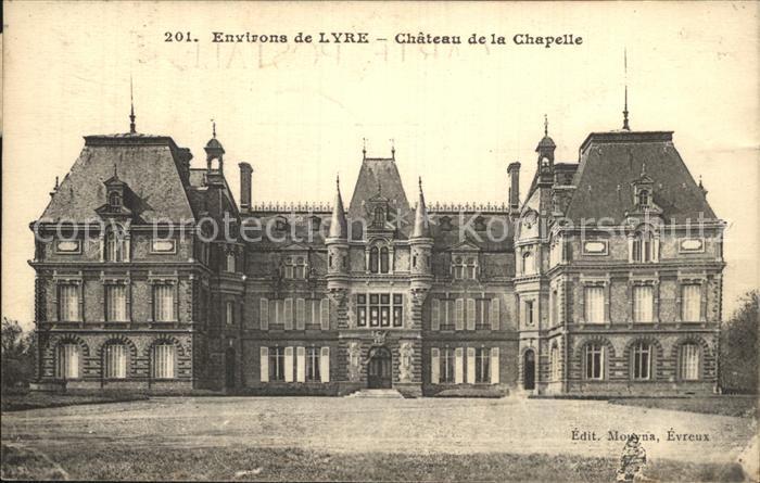 Lyre Chateau de la Chapelle Schloss