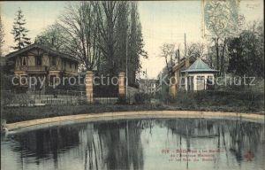 Bellevue Meudon Le Bassin de l Avenue Melanie et la Rue du Bassin Kat. Meudon