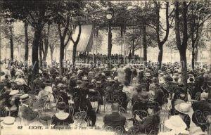Vichy Allier Musique dans le Parc Pavillon Concert Kat. Vichy