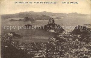 Rio de Janeiro Entrada do Rio Vista do Corcovado Kat. Rio de Janeiro