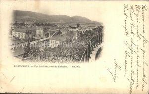 Remiremont Vosges Vue generale prise du Calvaire Kat. Remiremont