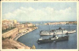 Valletta Malta Grand Harbour Kat. Malta