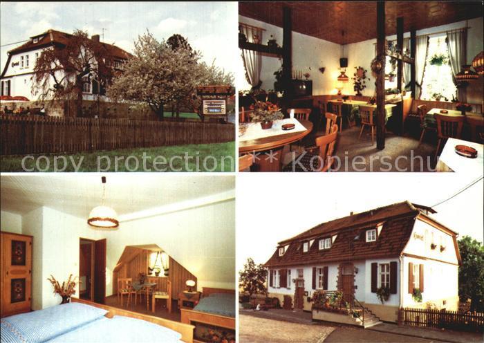 Herleshausen Hotel Restaurant Gutsschaenke Kat. Herleshausen Nr ...