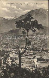 Albertville Savoie Vue generale La Belle Etoile Alpes Kat. Albertville