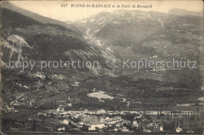 Bourg Saint Maurice et le Petit Saint Bernard Alpes Kat. Bourg Saint Maurice