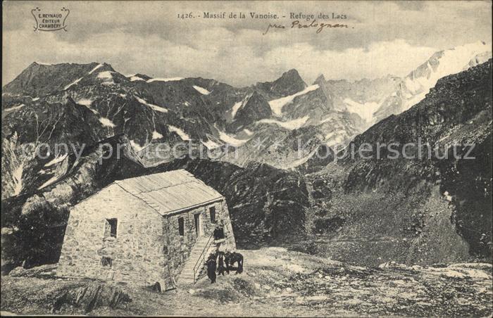 Pralognan la Vanoise Massif de la Vanoise Refuge des Lacs Kat. Pralognan la Vanoise