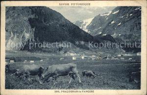 Pralognan la Vanoise Panorama Alpes des vaches Collection Savoie pittoresque Kat. Pralognan la Vanoise