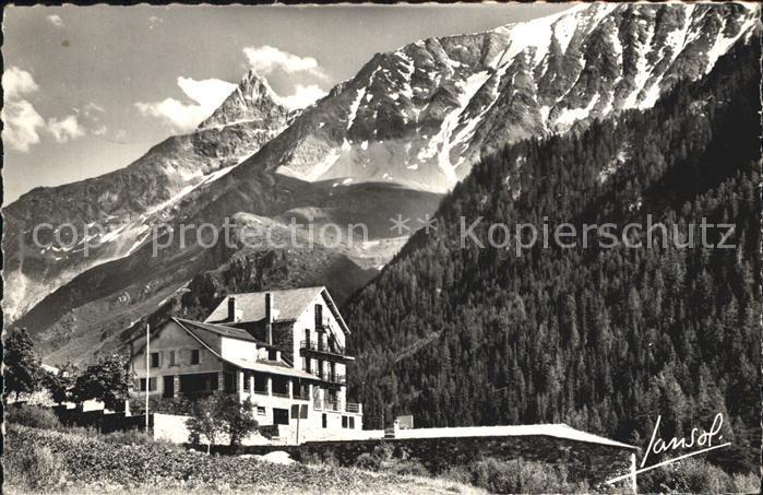 Peisey Nancroix Chalet Bon Air Aiguille de l Aliet Massif de Bellecote Alpes Kat. Peisey Nancroix