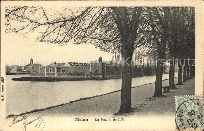 Melun Seine et Marne La Pointe de l Ile Kat. Melun