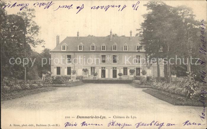 Dammarie les Lys Chateau du Lys Schloss Kat. Dammarie les Lys