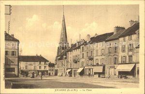 Jouarre La Place Eglise Kat. Jouarre