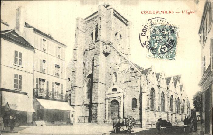 Coulommiers Eglise Kirche Kat. Coulommiers