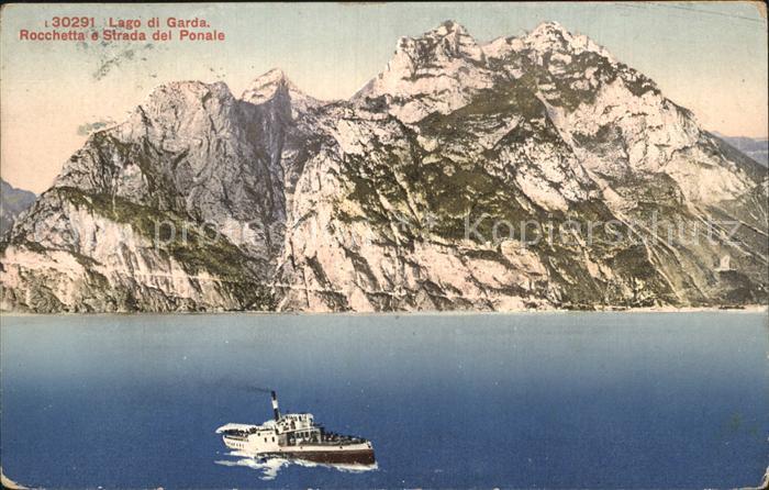 Lago di Garda Rocchetta e Strada del Ponale Kat. Italien