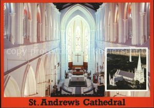 Singapore St Andrews Cathedral Interior Kat. Singapore