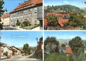 Zella Mehlis Postamt Teilansicht Dr Kuelz Platz Teilansicht Kat. Zella Mehlis