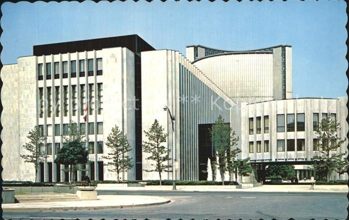 Toronto Canada Court House Library on University Kat. Ontario