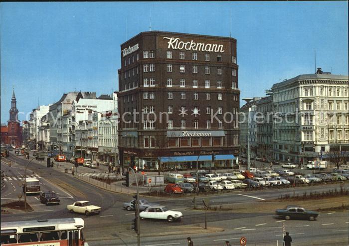 Hamburg Kirchenallee Kat. Hamburg