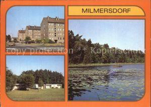 Milmersdorf Uckermark Ahrensdorf Leuna Ferienheim Temnitzer See