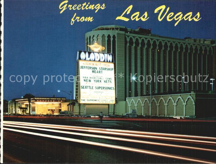 Las Vegas Nevada Aladdin Hotel Kat. Las Vegas