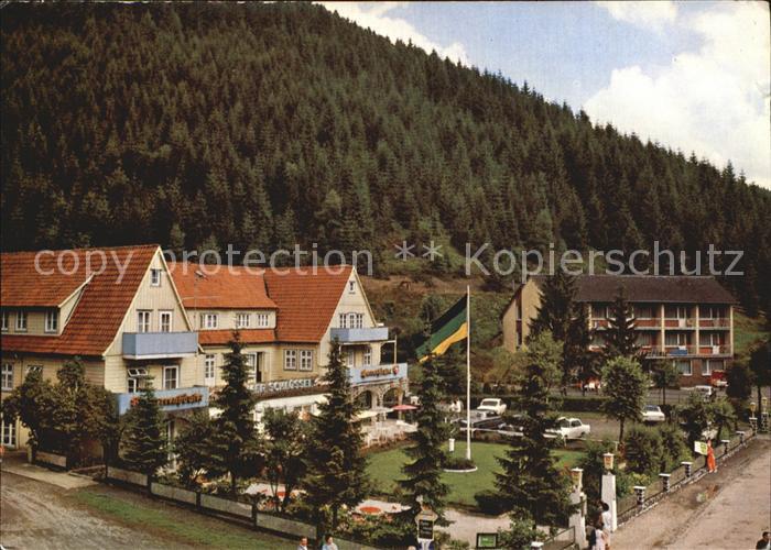 Wildemann Parkhotel Bremer Schluessel  Kat. Wildemann Harz