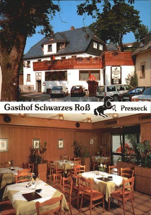 Presseck Gasthof Schwarzes Ross  Kat. Presseck