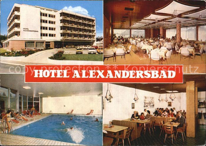 Alexandersbad Bad Hotel Alexandersbad  Kat. Bad Alexandersbad