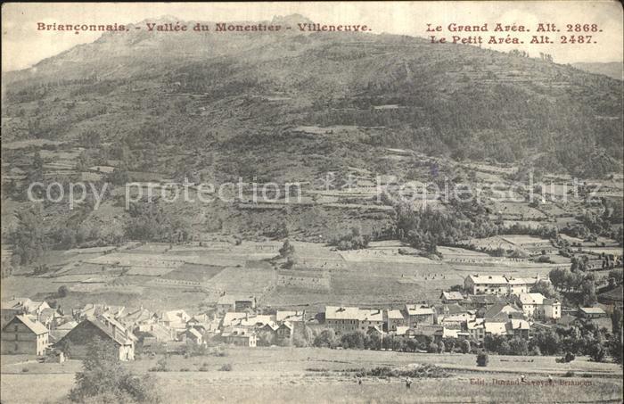 Monestier de Clermont Panorama Vallee du Monestier Villeneuve Kat. Monestier de Clermont