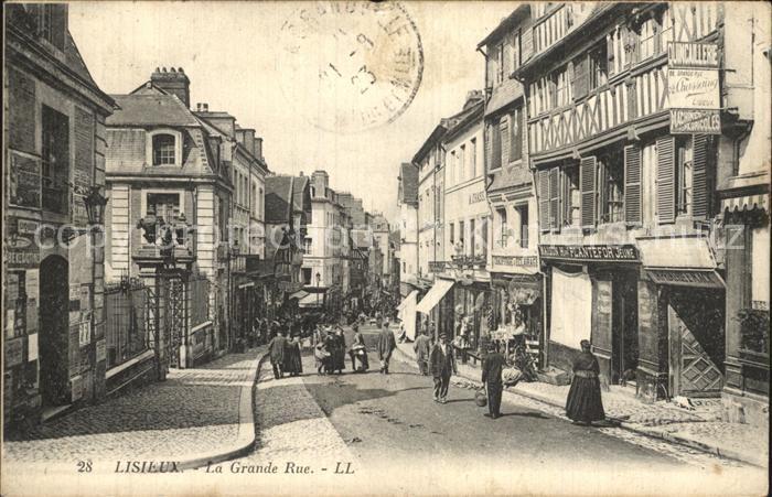 Lisieux La Grande Rue Kat. Lisieux