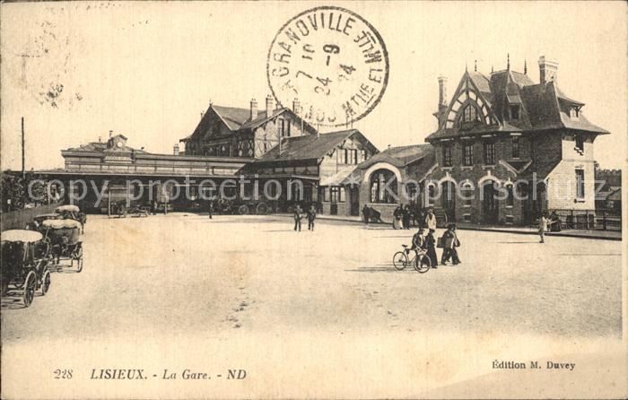 Lisieux La Gare Bahnhof Kat. Lisieux