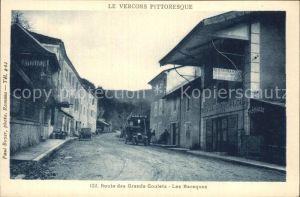 Le Vercors Route des Grands Goulets Les Baraques Kat.