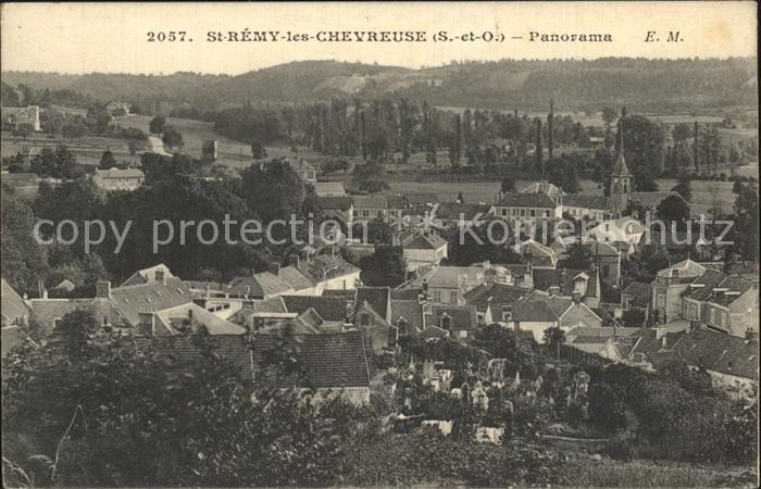 Saint Remy les Chevreuse Panorama  Kat. Saint Remy les Chevreuse