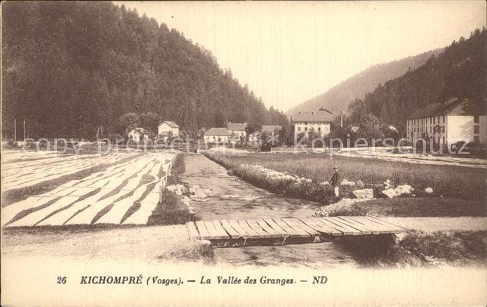 Kichompre Gerardmer Vosges La Vallee des Granges Kat. Gerardmer