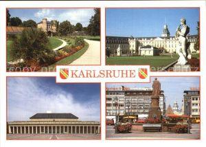Karlsruhe Baden Schloss Denkmal