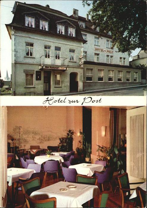 Rengsdorf Hotel zur Post  Kat. Rengsdorf